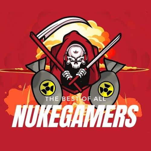 """Penyertaan Peraduan #                                        12                                      untuk                                         I need an graphic design for an GamingClan image, the Clan Name is Called: """"NukeGamers"""