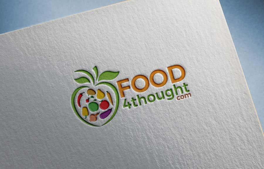 Kilpailutyö #                                        108                                      kilpailussa                                         Logo Food4thought wanted