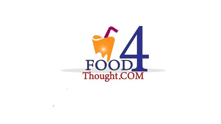 Kilpailutyö #                                        122                                      kilpailussa                                         Logo Food4thought wanted