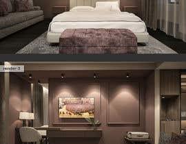 #39 for Hotel Room 3D Rendering by sercevik