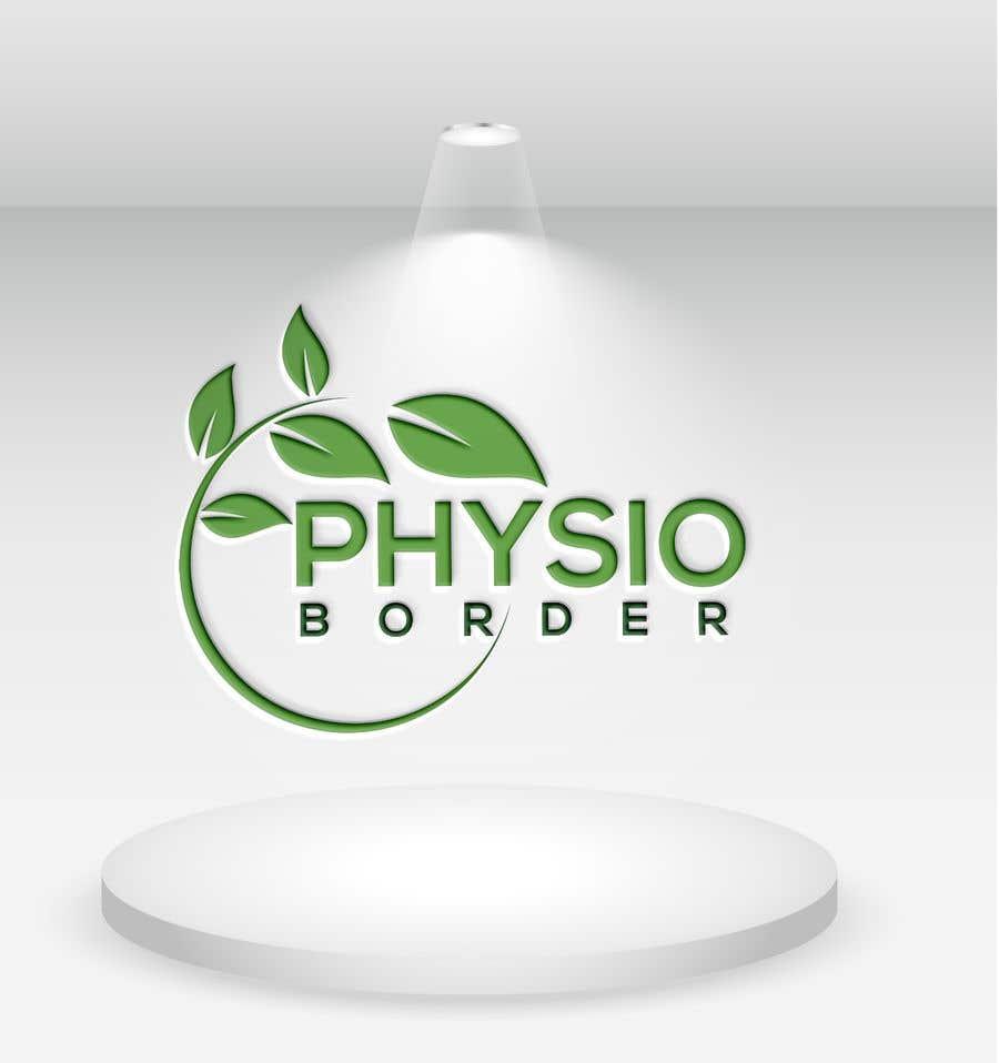 """Penyertaan Peraduan #                                        334                                      untuk                                         Design a logo for """"Border Physio"""""""