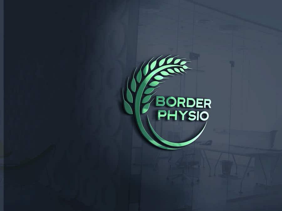 """Penyertaan Peraduan #                                        543                                      untuk                                         Design a logo for """"Border Physio"""""""