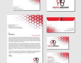 #241 para Require a Business card ,  letter head and envelope  for my company named Rapid brown, por Jfkeka