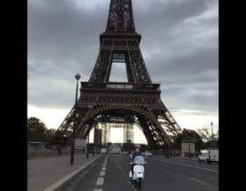#4 for Put me with my vespa in front of the eiffel tower by fizzee2009