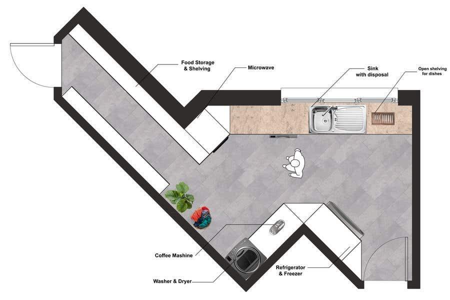 Penyertaan Peraduan #                                        36                                      untuk                                         High End Scullery/Pantry Design