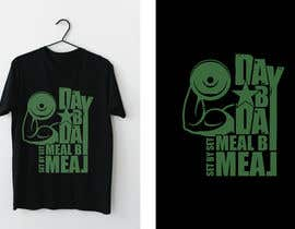 #43 for Design a tee-shirt - Day by Day - Meal by Meal -Set By Set by almamun5436