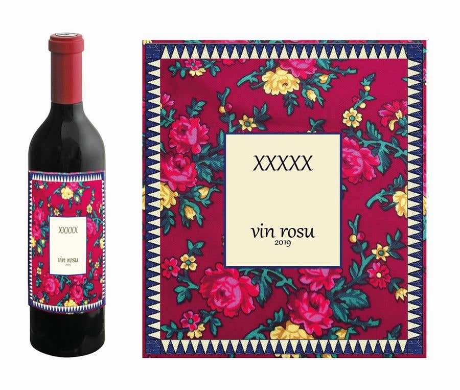 Contest Entry #                                        20                                      for                                         4 wine labels for regional wine in W Romania