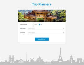 #25 za Design for travel planning site (landing page and initial interaction) od dragnoir