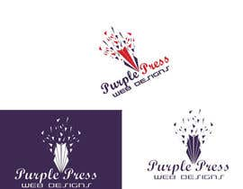 #44 untuk Design a Logo for Purple Press oleh qazishaikh