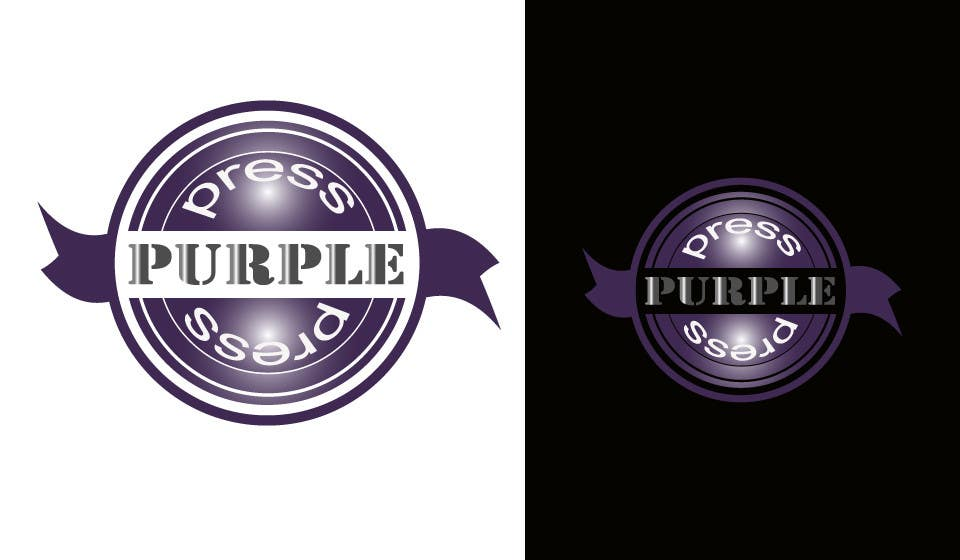 Konkurrenceindlæg #                                        26                                      for                                         Design a Logo for Purple Press