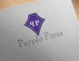 #35 untuk Design a Logo for Purple Press oleh srdas1989