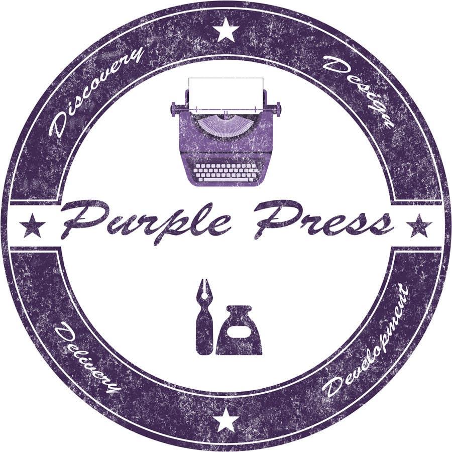 Konkurrenceindlæg #                                        42                                      for                                         Design a Logo for Purple Press