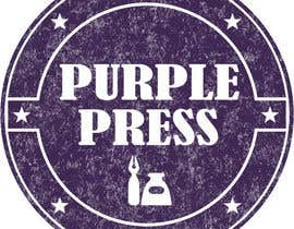 #56 för Design a Logo for Purple Press av obayomy