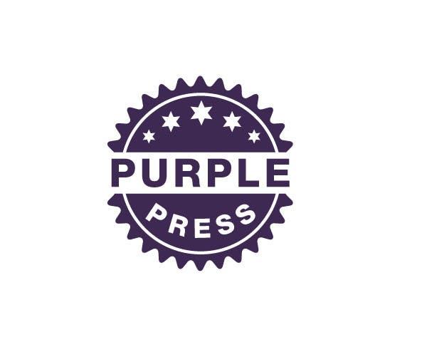 Konkurrenceindlæg #                                        10                                      for                                         Design a Logo for Purple Press
