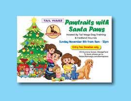 Nro 64 kilpailuun Brochure to advertise dog christmas event käyttäjältä designconcept86