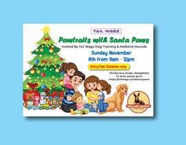 Nro 65 kilpailuun Brochure to advertise dog christmas event käyttäjältä designconcept86