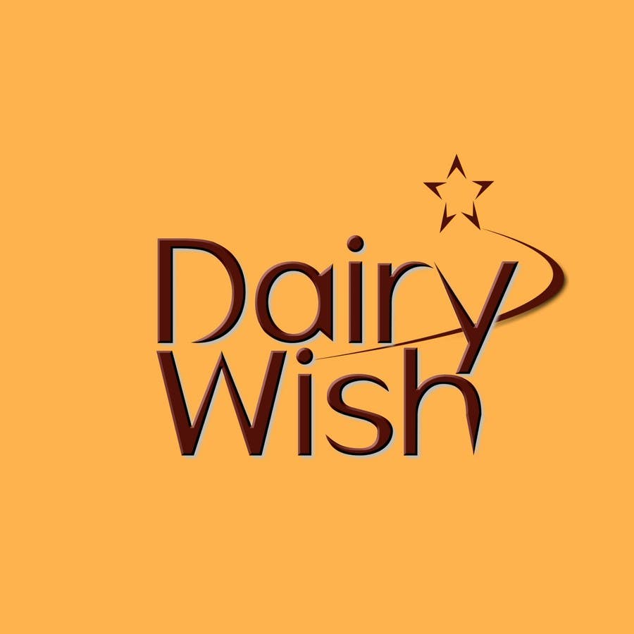 Entri Kontes #                                        263                                      untuk                                        Logo Design for 'Dairy Wish' Chocolate brand
