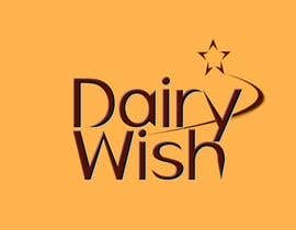 #263 para Logo Design for 'Dairy Wish' Chocolate brand por taavilep