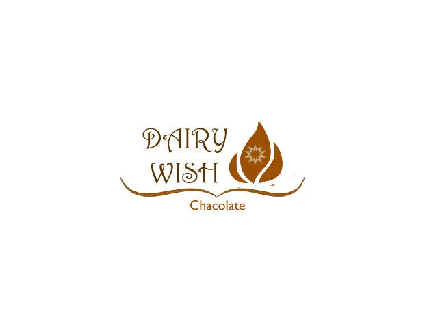 Entri Kontes #292 untukLogo Design for 'Dairy Wish' Chocolate brand