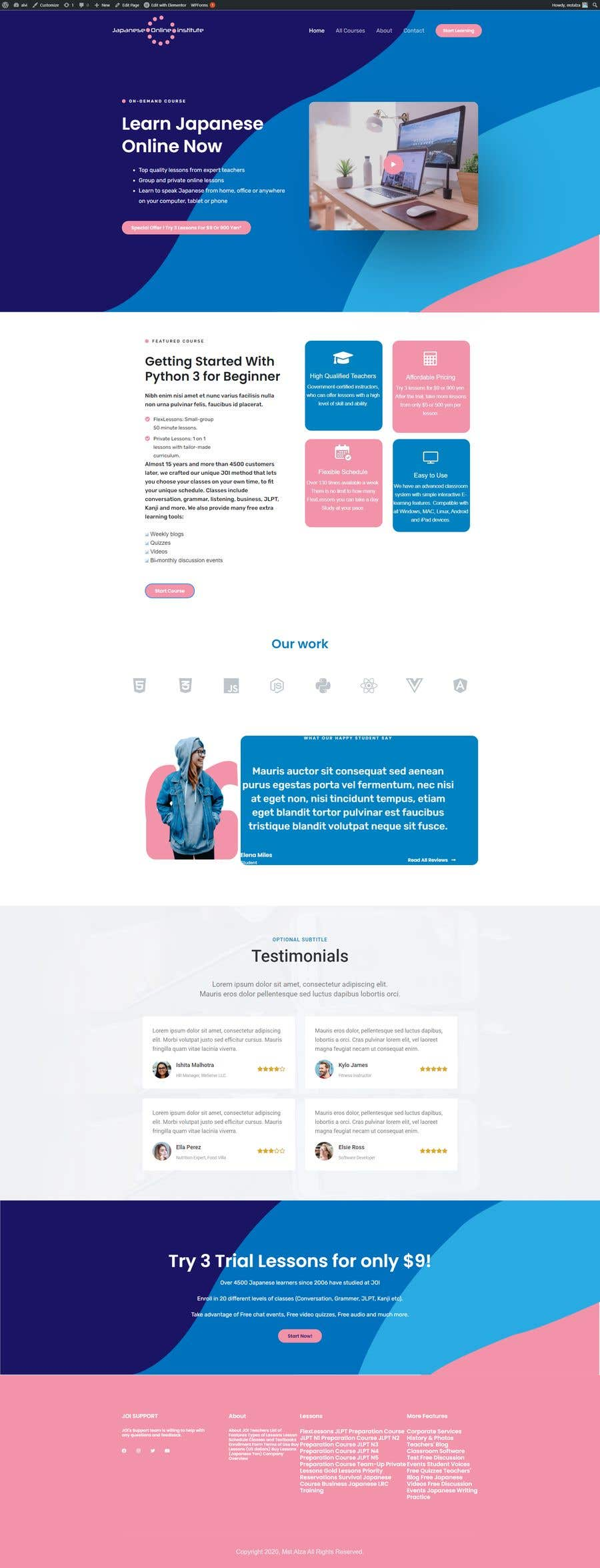 Contest Entry #                                        4                                      for                                         redesign and optimize clickfunnels lead page