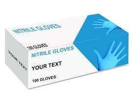 #55 untuk Nitrile Gloves Box packaging oleh Pulakbindu