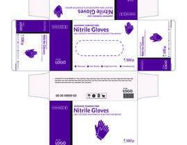 #51 untuk Nitrile Gloves Box packaging oleh MDJillur