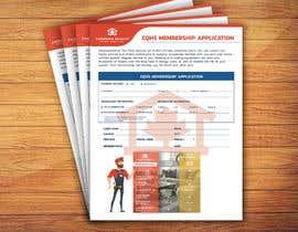 Nro 6 kilpailuun CQHS Registration Form käyttäjältä MrMARUF1