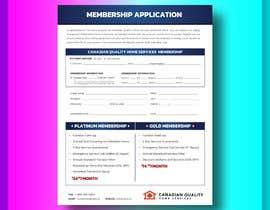 Nro 22 kilpailuun CQHS Registration Form käyttäjältä imtiazux