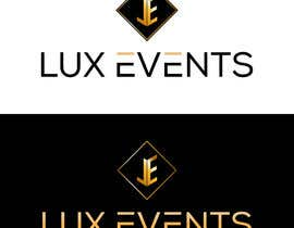 #186 cho Logo Design LUX Events bởi jueal520