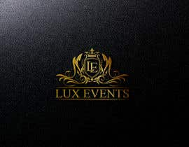 #234 for Logo Design LUX Events af alauddinh957