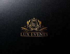 #234 cho Logo Design LUX Events bởi alauddinh957