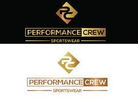 Nro 916 kilpailuun Sportswear Logos - Performance Crew Sportswear käyttäjältä SHOJIB3868