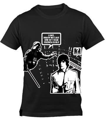 Konkurrenceindlæg #27 for Design a T-Shirt for satire and us