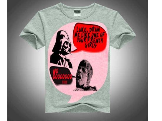 Participación en el concurso Nro.                                        28                                      para                                         Design a T-Shirt for satire and us