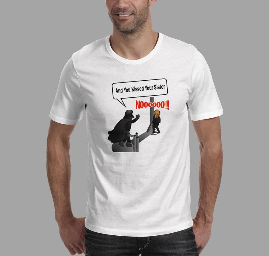 Konkurrenceindlæg #21 for Design a T-Shirt for satire and us