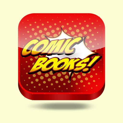 Inscrição nº                                         56                                      do Concurso para                                         Icon or Button Design for iOS comic book icon