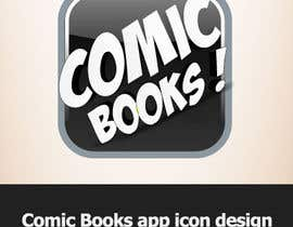 #25 para Icon or Button Design for iOS comic book icon por dirav