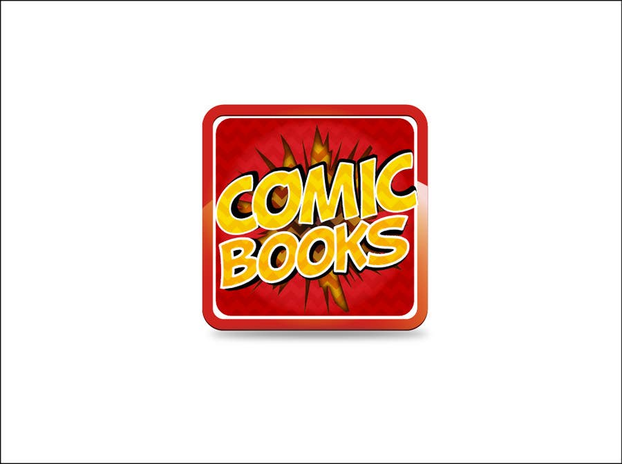 Inscrição nº                                         50                                      do Concurso para                                         Icon or Button Design for iOS comic book icon