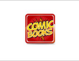 #50 untuk Icon or Button Design for iOS comic book icon oleh rashedhannan