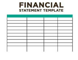#42 for Create A Month-End Financial Statement Template In Google Sheets af AbodySamy