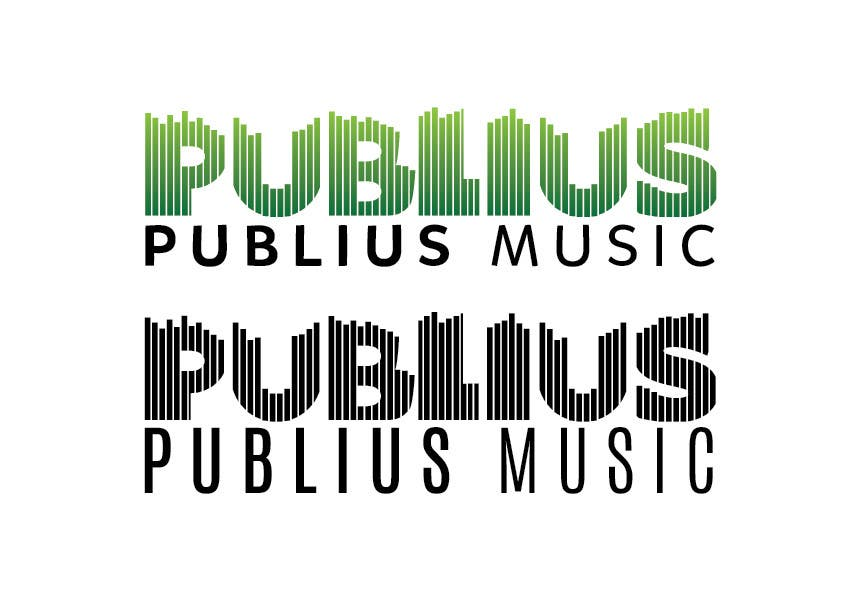 Contest Entry #                                        45                                      for                                         Design a Logo for Publius Music Production