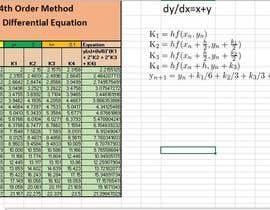 szeyed tarafından solve set of multi differential equations using excel için no 7