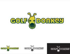 #54 para Design a Logo for Golf Donkey de sdmoovarss