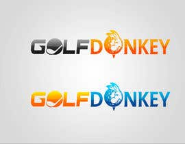 #52 para Design a Logo for Golf Donkey por nyomandavid