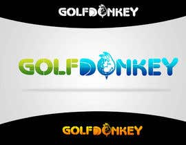 #53 para Design a Logo for Golf Donkey por nyomandavid