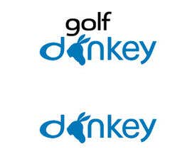 #24 para Design a Logo for Golf Donkey de hoangtknt