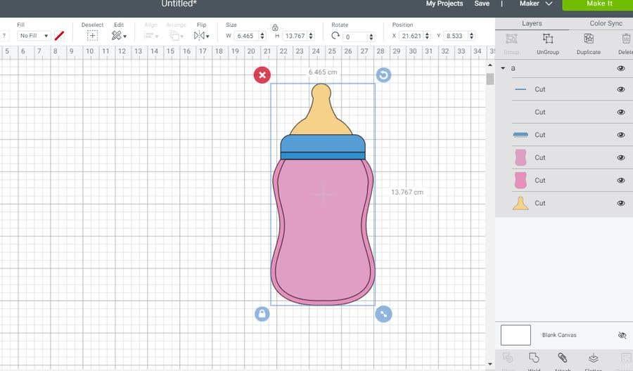 Kilpailutyö #                                        20                                      kilpailussa                                         Original Clipart Design, Baby Clipart
