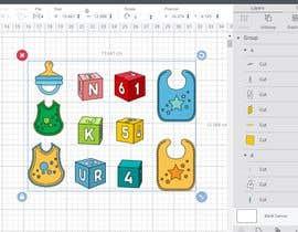 Nro 57 kilpailuun Original Clipart Design, Baby Clipart käyttäjältä sdesignworld