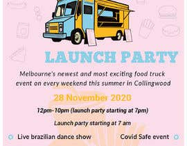 #15 for A6 event invitation for food truck launch party by KaziShadhin28