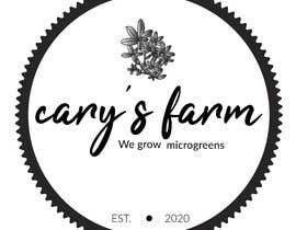 #45 untuk Vintage farm logo for cary's farm.  It's grows microgreens locally oleh estelleharris3